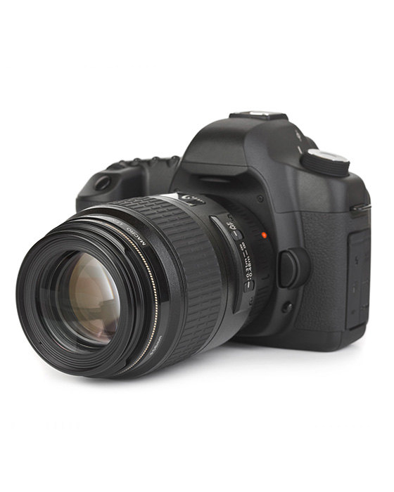 Digital Camera With Zoom Lens